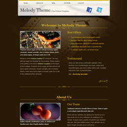 Tooplate Melody Theme