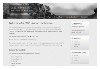 css3templates Abstract