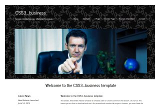 css3templates Mobil Business