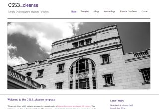 css3templates Cleanse