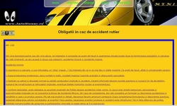 Obligatii in caz de accident